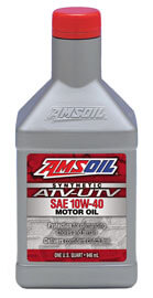 AMSOIL 10W-40 Synthetic ATV/UTV Engine Oil