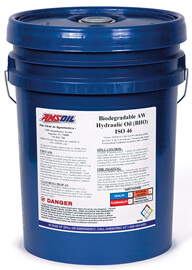 AMSOIL Biodegradable Hydraulic Oil ISO 46